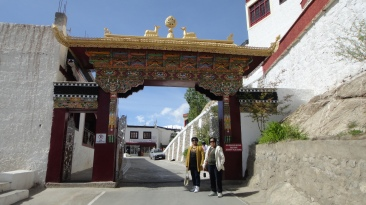 Gate of Thiksey Monastery