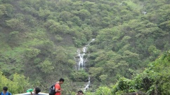 Waterfalls on the way