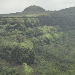 View of the Fort while Trekking