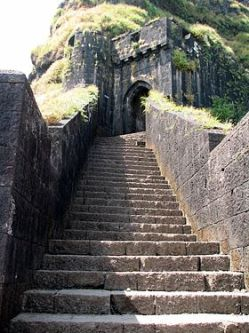 The main Entrance to the Fort