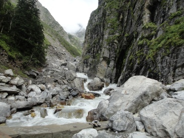 The Roaring Pushpawati River