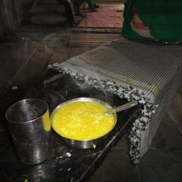Khichdi and Tea at the Langar