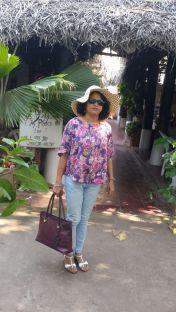 Outside La Terrasse