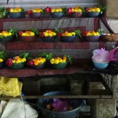 Stalls selling Flowers