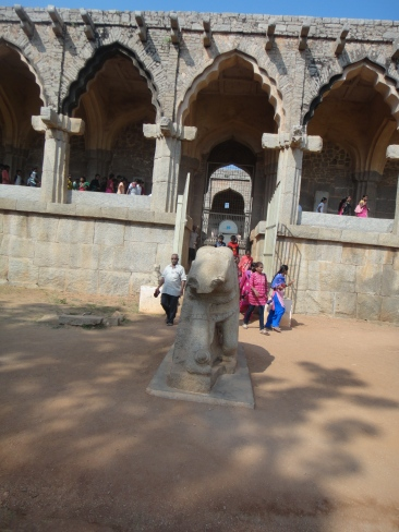 The Stone Elephant outside the Museum