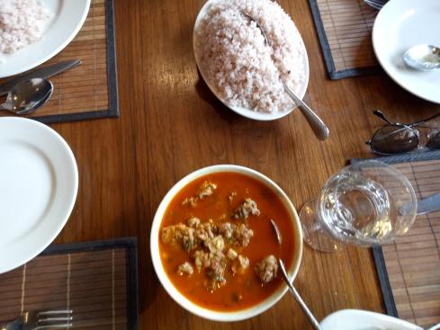 Red Rice & Chicken Stew