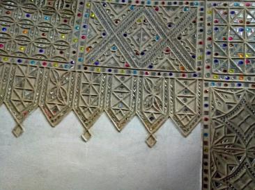 The Glasswork inside the Bhunga